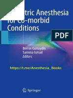 Obstetric + Co Morbid Anesthesia