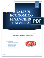 Analisis Economico Financiero Laive