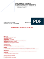 Proiect Didactic Matematica Cls. III