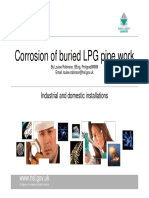 Louise Robinson - HSL - Corrosion of Buried LPG Pipe Work