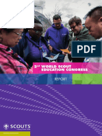 World Scout Education Congress 2017 - Report