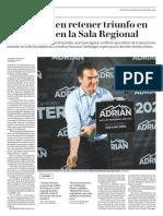 20-01-19 PRI confía en retener triunfo en Monterrey en la Sala Regional