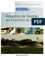 Relatório de Gestão CODEVASF