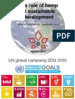 The role of hemp in sustainable development - Hana Gabrielova, Hempoint s.r.o.