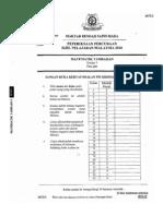 Mrsm Add Maths Spm 2010 Trial p1