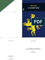 Bloch, Marc. - La sociedad feudal [1986].pdf