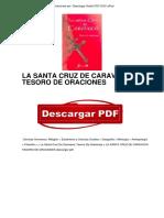 Libro La Santa Cruz de Caravaca Tesoro de Oraciones PDF Gratis OTc4OTcwNzMyMDkzMi8xMDc2ODM0