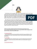 Perintah Dasar Linux Lengkap