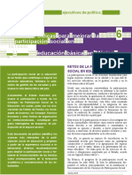 Politica Mejorar La Participacion Social en Mxco INEE