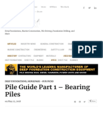 Pile Guide Part 1 – Bearing Piles by Pile Buck