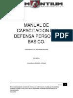 Manual de Capacitacion de Defensa Personal Basico