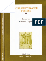 Wilhelm Capelle - Sokrates'ten Önce Felsefe 2. Cilt.pdf