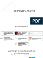 Amazon Industry Analysis