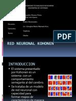 Red Neuronal Kohonen