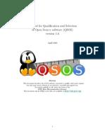 QSOS1.6-Manifesto