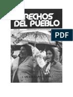 Derechos Del Pueblo 020. Mujeres Trabajadoras