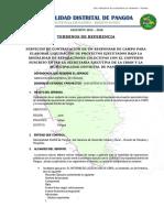 TDR _TECNICO Asistente de Campo