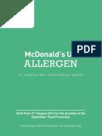 Allergen Booklet