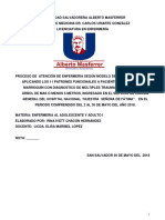 PROCESO DE ATENCION DE ENFERMERIA