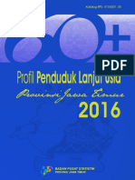 Profil Penduduk Lanjut Usia Provinsi Jawa Timur 2016