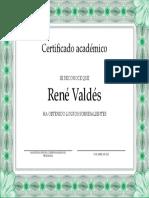 Plantilla Diploma