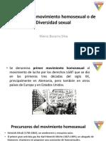 Breve historia del movimiento por la diversidad sexual (autor Marco Becerra AccionGay (Chile))