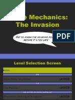 Game Mechanics in Design