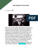 El Pogrom Como Deporte de Las Clases Pudientes_Juan Forn