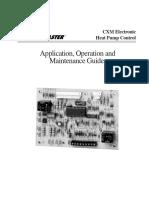 Manual de mantenimiento CXM ClimateMaster