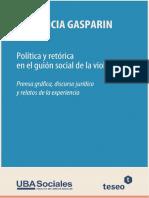 Gasparin_Guión social de la violanción