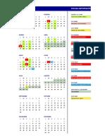 calendario 2019A algebra