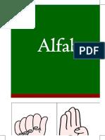 cartaz alfabeto - Libras 2019