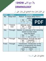 True Learn اساسيات علم المصطلحات الطبية 2