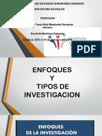Enfoques y Tipos de Investigacion