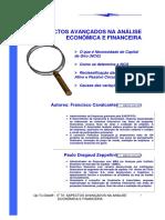 UpToDate070 Aspectos avançados de análise financeira