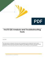 VoLTE E2E Analysis Troubleshooting Tools