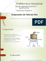 Evaporador de Pelicula Fina