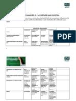 Rúbrica de Evaluación de Propuesta de Clase Invertida