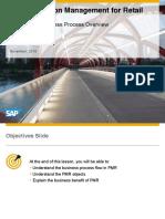 SAP Promotion Management Business Process Flow