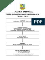 Carta Organisasi Panitia RBT