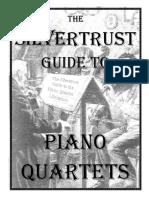 Guide to Piano Quartets