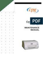 Compuprint Sp40 Service Manual