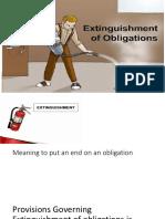 Extinguishment of Obligation_lecture Notes