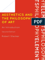 Aesthetics and the Philosophy of Art; An Introduction - Robert Stecker.pdf