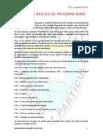 Funciones Basicas Del Programa Word