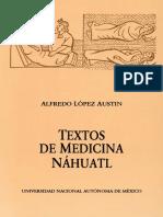López Austin, Alfredo - Textos de Medicina Náhuatl (UNAM, 1993)
