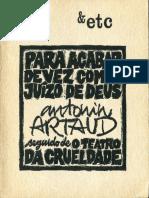 Artaud - Para acabar com o juízo de Deus