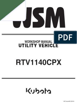 kubota rtv 1140 cpx wiring diagram manual kubota motor oil fuse  electrical   manual kubota motor oil fuse