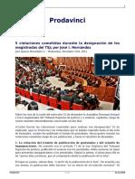 8 Violaciones Del Cne a La Constitucion en El Tramite Del Revocatorio