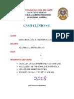 Caso 1 - Microbiología y Parasitología - Streptococcus Pneumoniae